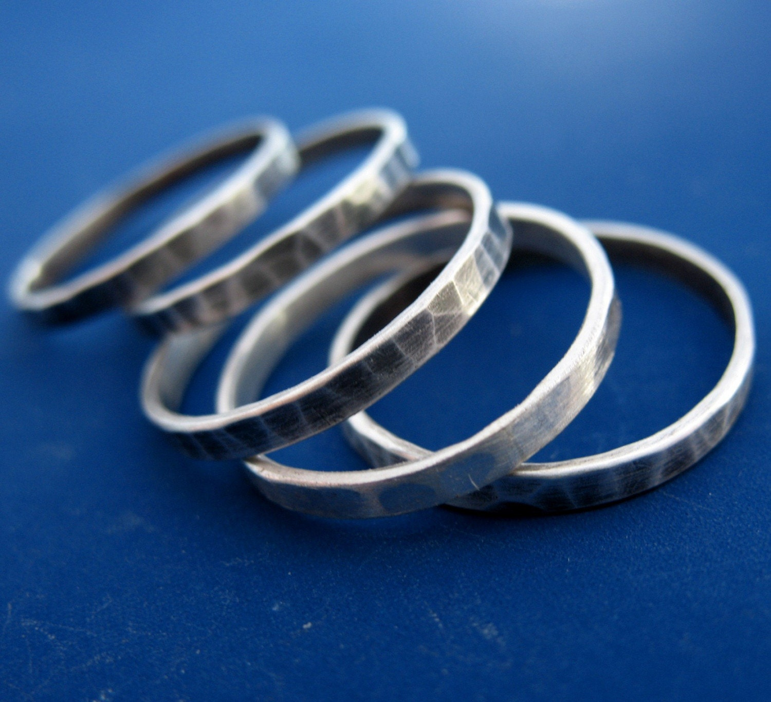 One Sterling Silver Band