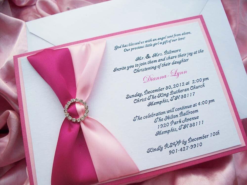 Quinceanera Invitations Wording | Rachael Edwards