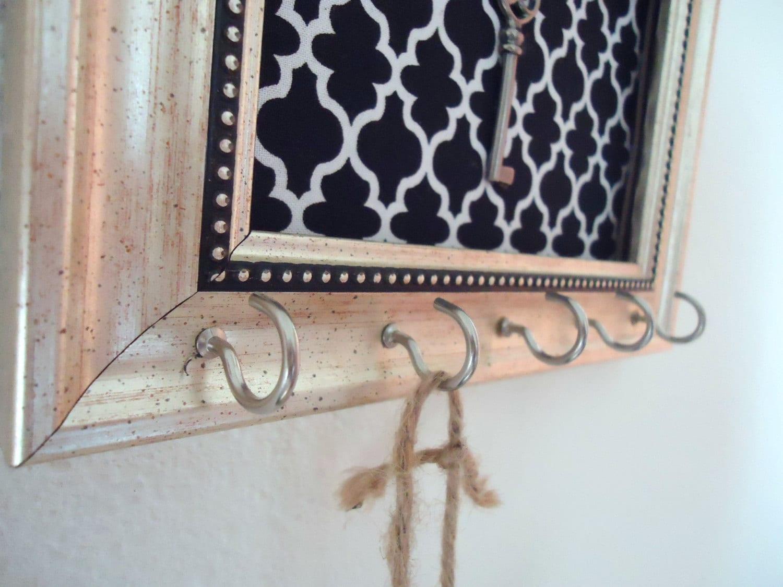 Items Similar To Key Holder Memo Board Organizer Frame
