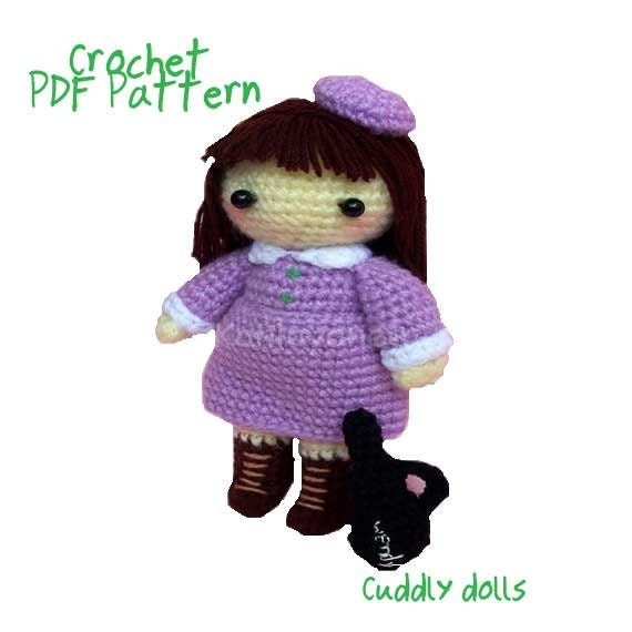 Amigurumi Doughnut Pattern : Items similar to Amigurumi Crochet Dolls PDF Pattern -The ...