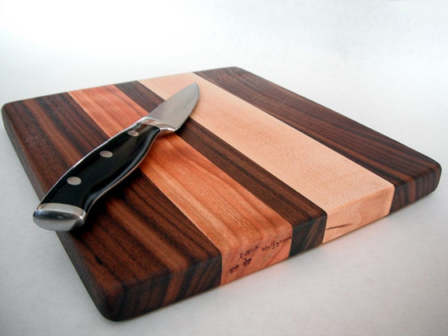 Beautiful small Reclaimed Hardwoods Cutting Board