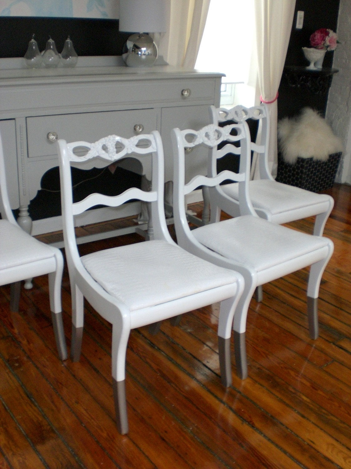 Slippered Croc Dining Chairs  SALE