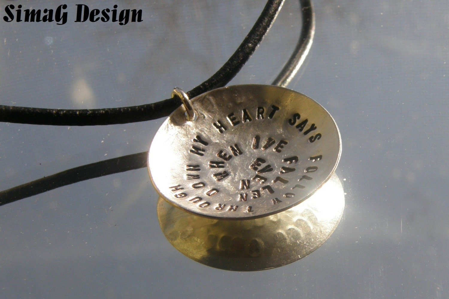 MY  design -  MY  art   -   YOUR  necklace - by SIMAG -  - - - TRULY UNIQUE NECKLACE