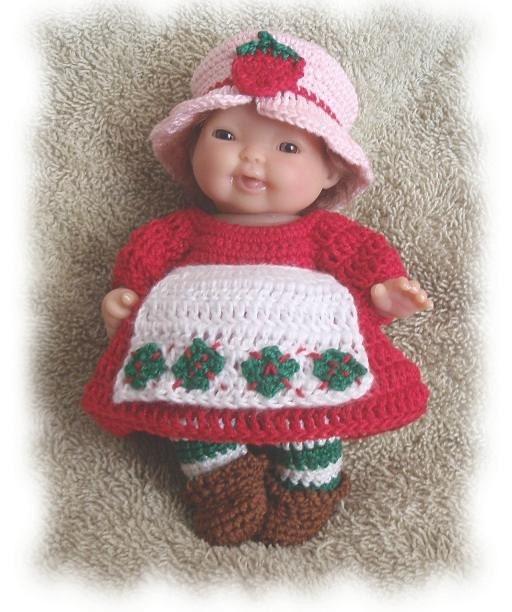"Patterns for 11 "" fashion dolls to crochet - Crochet Fashion Doll"