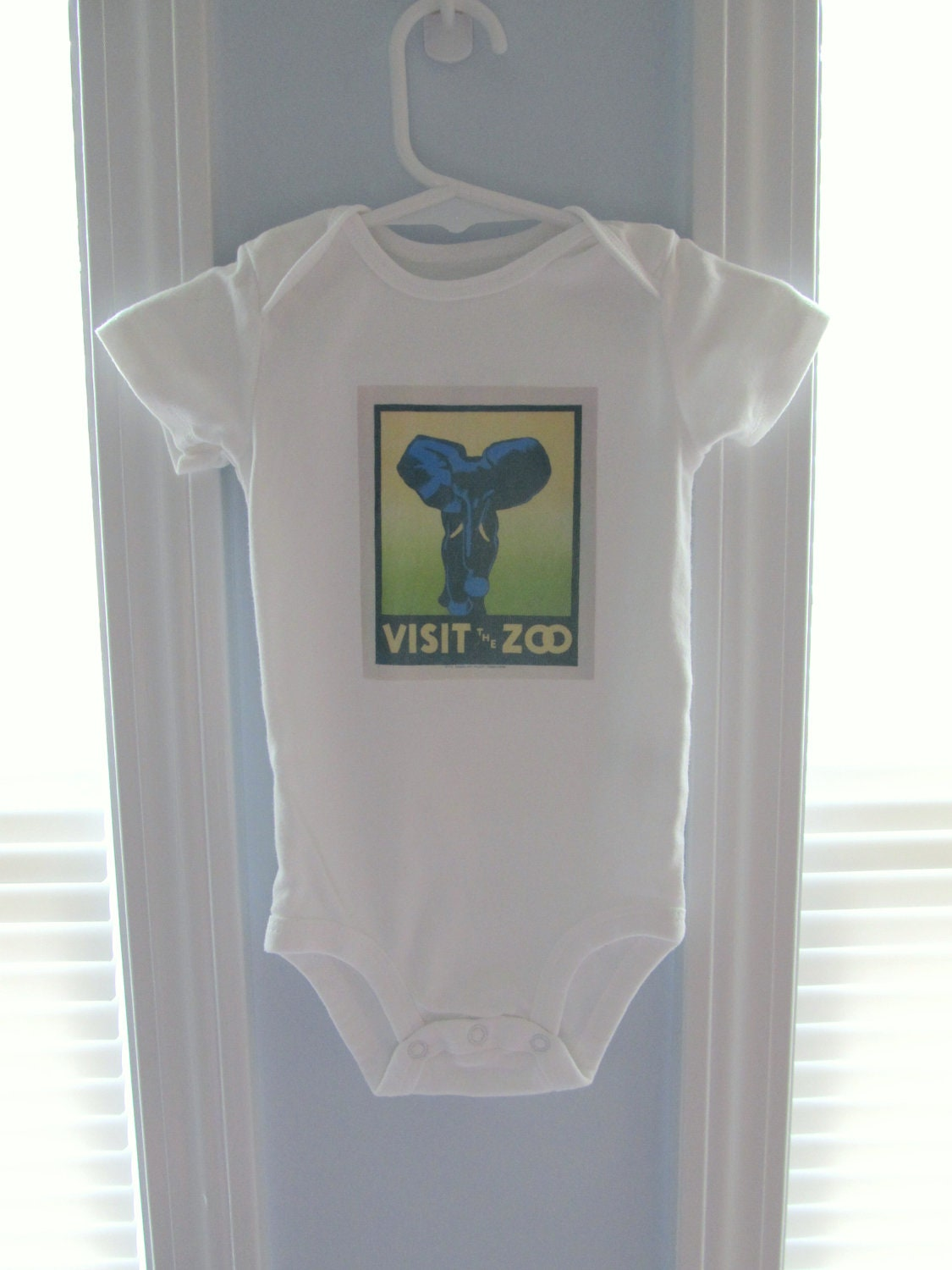 Vintage Onesie - Visit the Zoo image