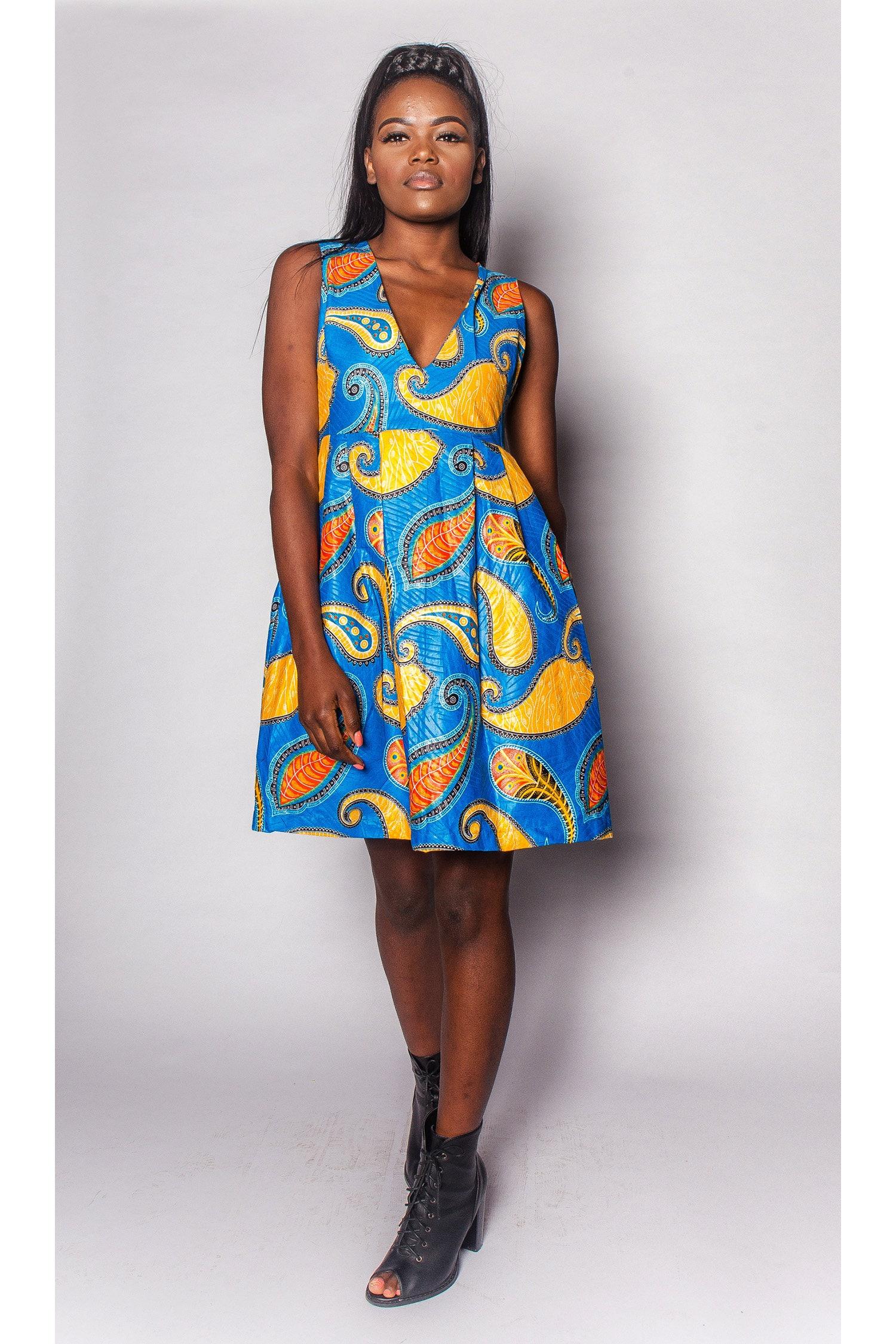 Bintang JEKKAH  African ALine Dress  Womens