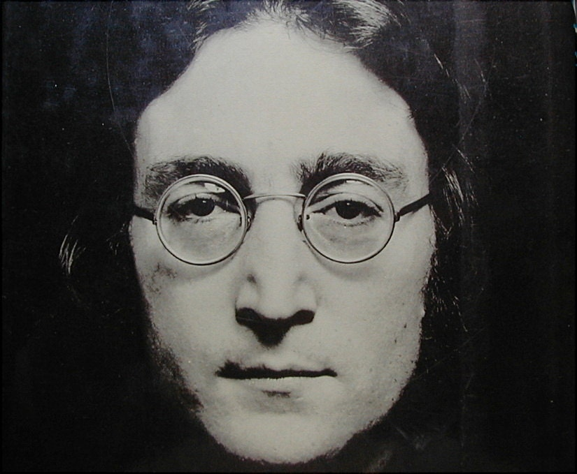The Lives of John Lennon Book by Albert Goldman and Beatles Postcard - queenofsienna