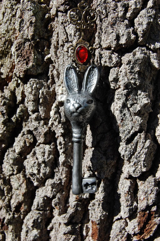 Rabbit Key Necklace