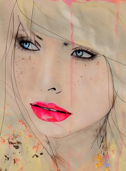 Opulent Speckle - Art Print