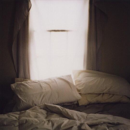 rumpled sheets polaroid print