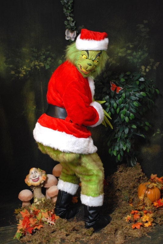 Make Your Own Grinch Costume