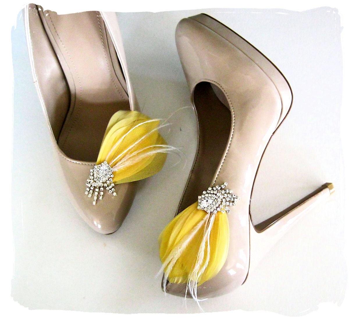 And Rhinestone Shoe Clips
