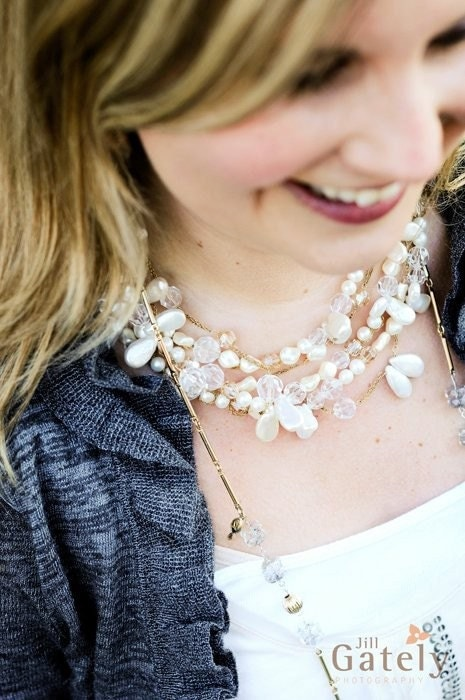 Lauren Chunky Pearl Necklace