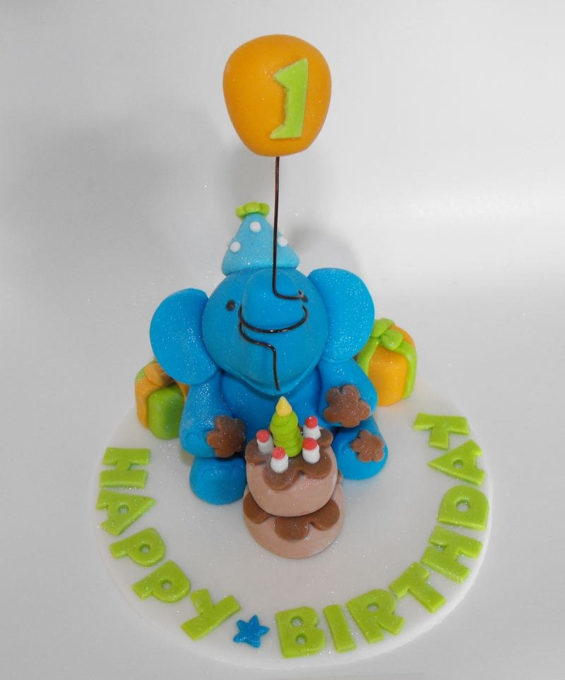 Circus elephant cake topper - photo#18