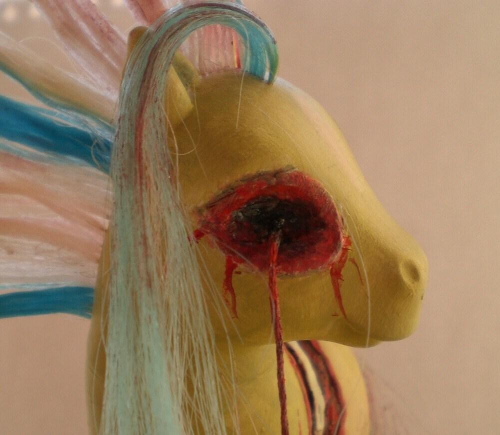 Zombie  custom my little pony