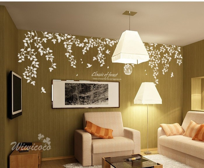 Classic of froest Removable Wall Art Home Decors by wiwicoco