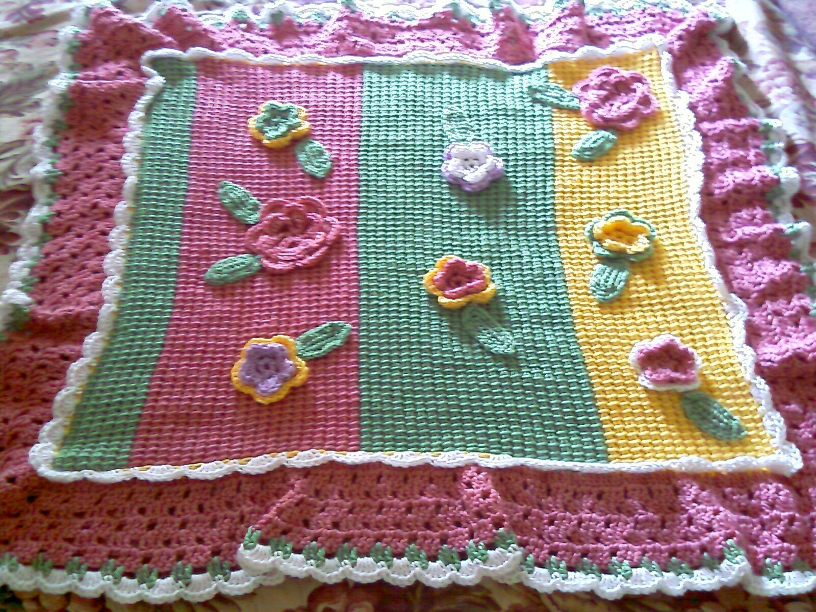 Handmade Baby Blankets - Hand Made Crocheted Baby Blankets and Afghans