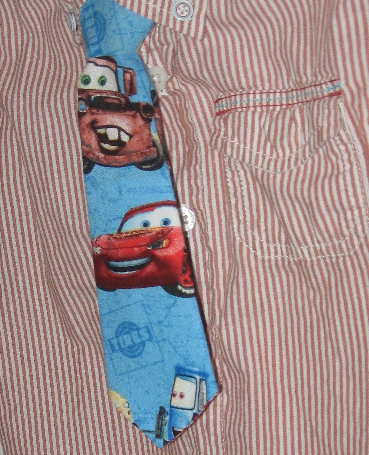 Lightening McQueen Tie Boys
