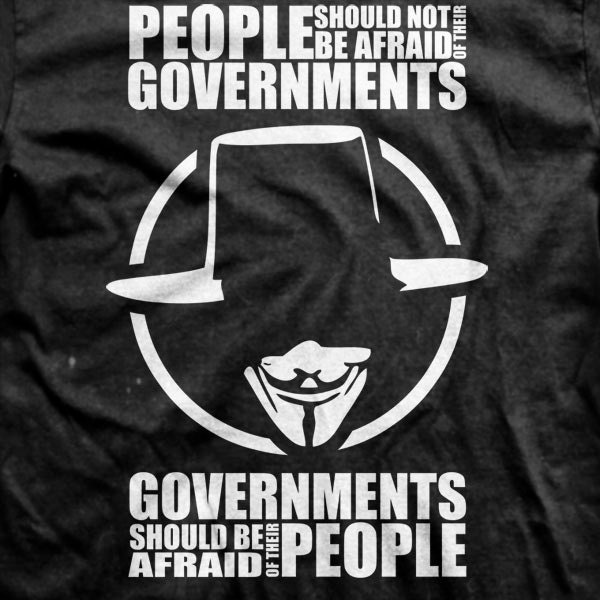 Pics For V Vendetta Quotes People Should Not Be Afraid