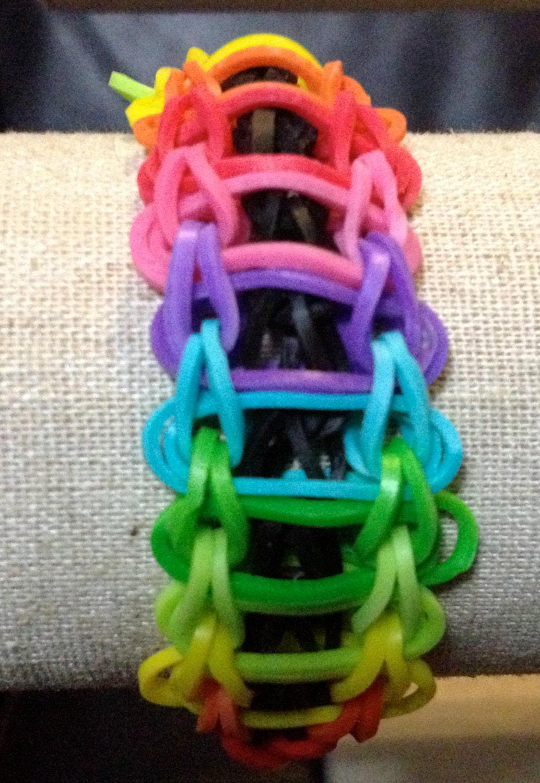Rainbow Loom Double Ladder