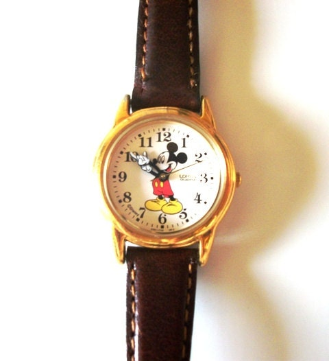 Lorus mickey mouse watch disney vintage watches for women by rs4u