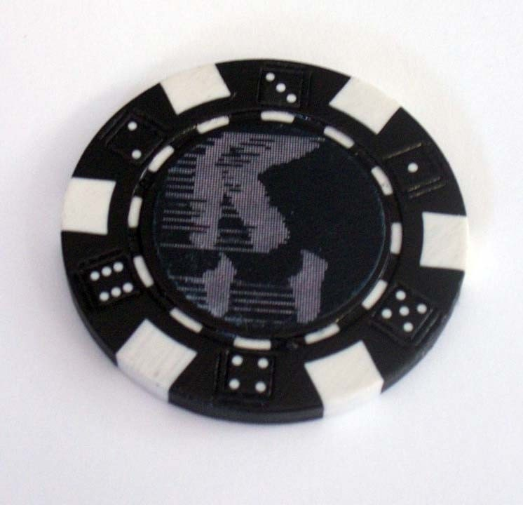Michael Jackson MOONWALK Las Vegas Casino style Poker Chip for Black Jack 21 Roulette or any gambling