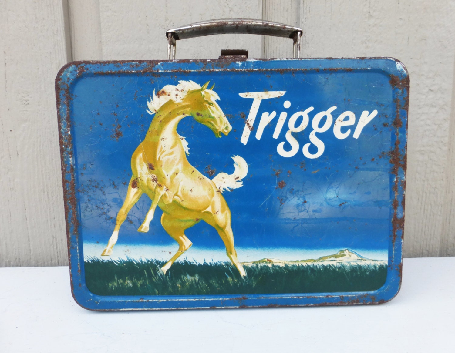 Trigger Lunch Box, 1950s