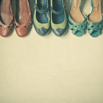 SPRING SALE The Shoe Collection 5 x 5 Print