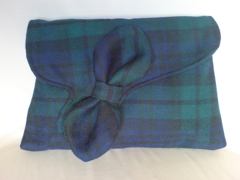 Tartan Clutch Bag