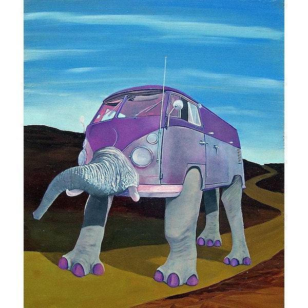 Pink Vanelephant