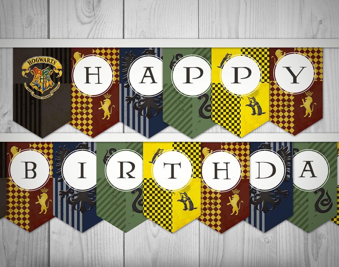 День рождения для детей в стиле гарри поттер своими руками 89