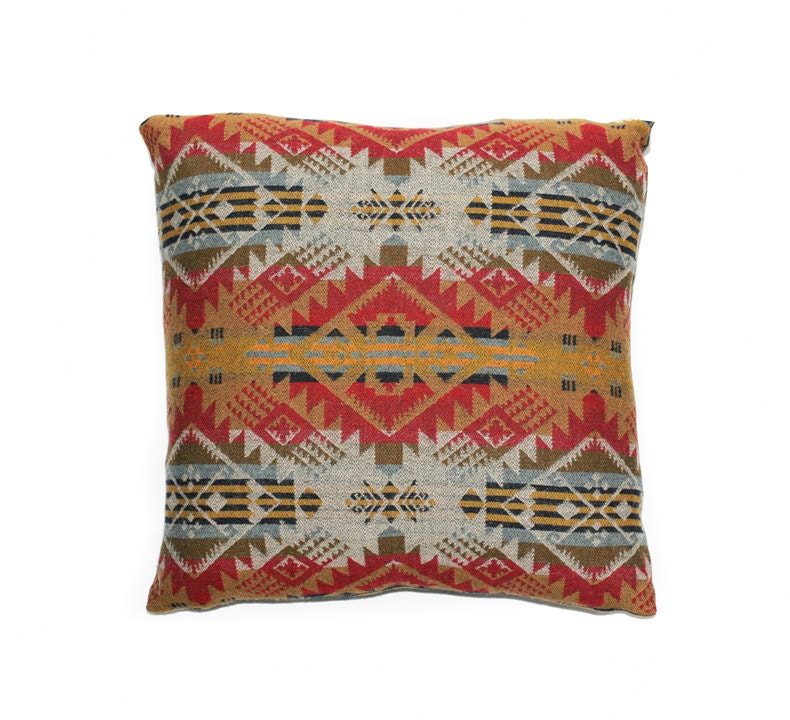 Southwestern Wool Pillow Covers : Pillow cover made with genuine Pendleton fabric Wool by RaisCase1