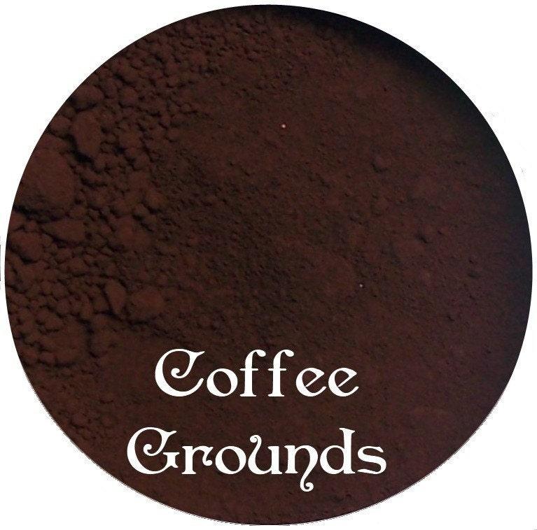 COFFEE GROUNDS Dark Brown  Matte Mineral Makeup Pigment 3 Gram Sifter Jar