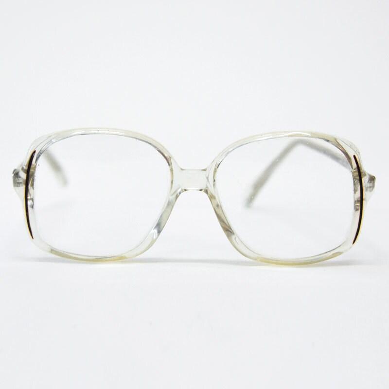 items similar to vintage retro 1970s prescription clear
