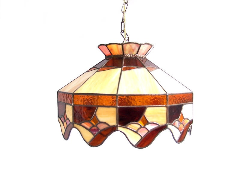 Vintage Hanging Light Ceiling Overhead Swag By Stonesoupology