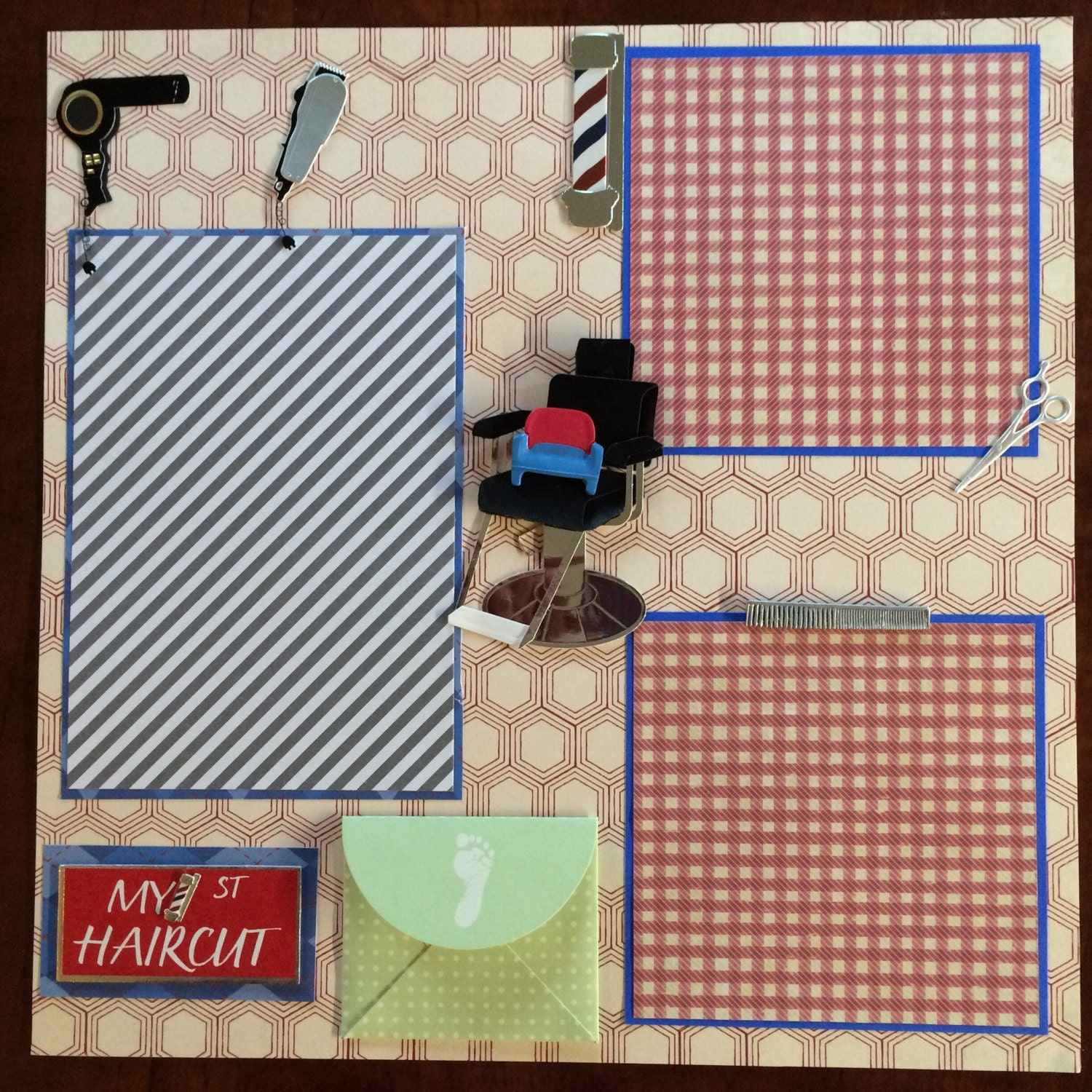 How to Complete Your First Scrapbook Page