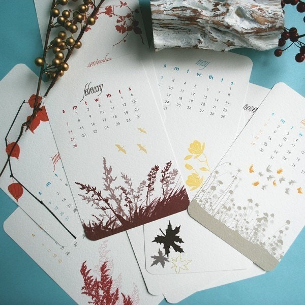 botanical whimsical prints, via lepapierstudio's , USD$22