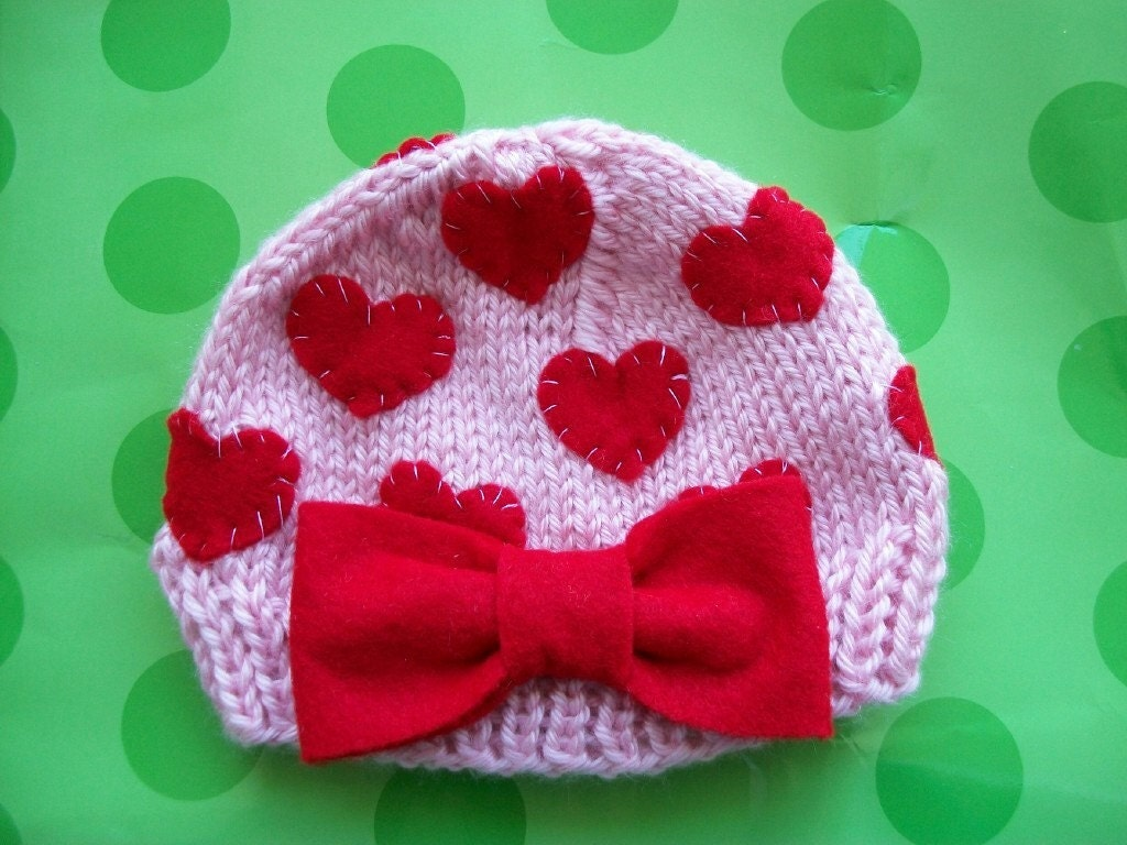 HEARTS  DELIGHT-Newborn Size-Made to order only