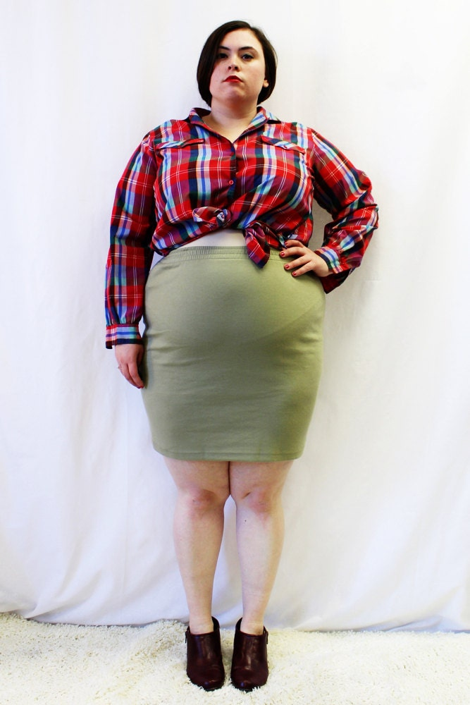 plus size attire fashionable
