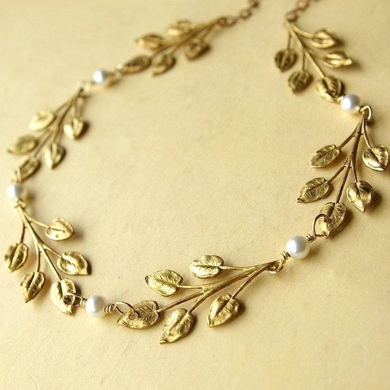 etsy wedding necklace