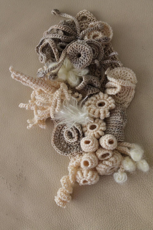 Crochet wool dresses for Long