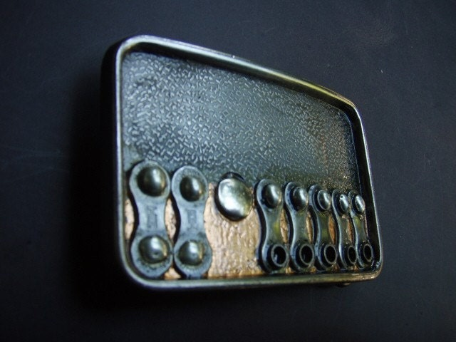 Cyclona Designs belt buckle