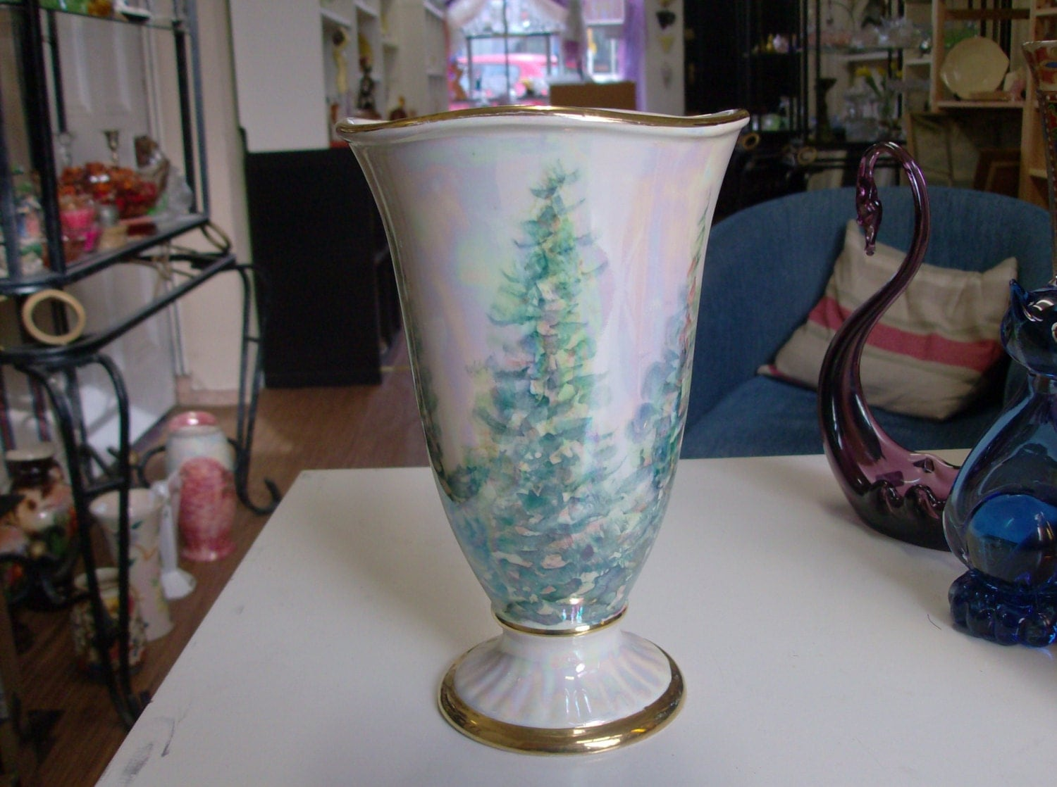 Art Deco 1930s Crown Devon Lustre Vase
