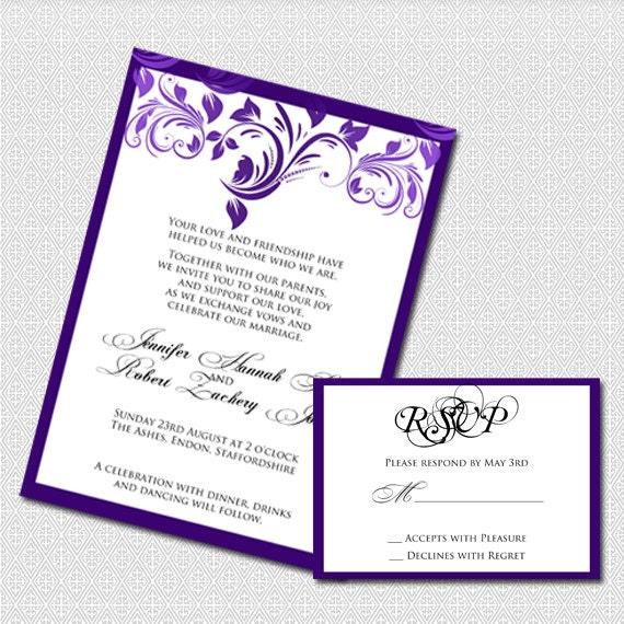 Free Printable Wedding Borders Purple