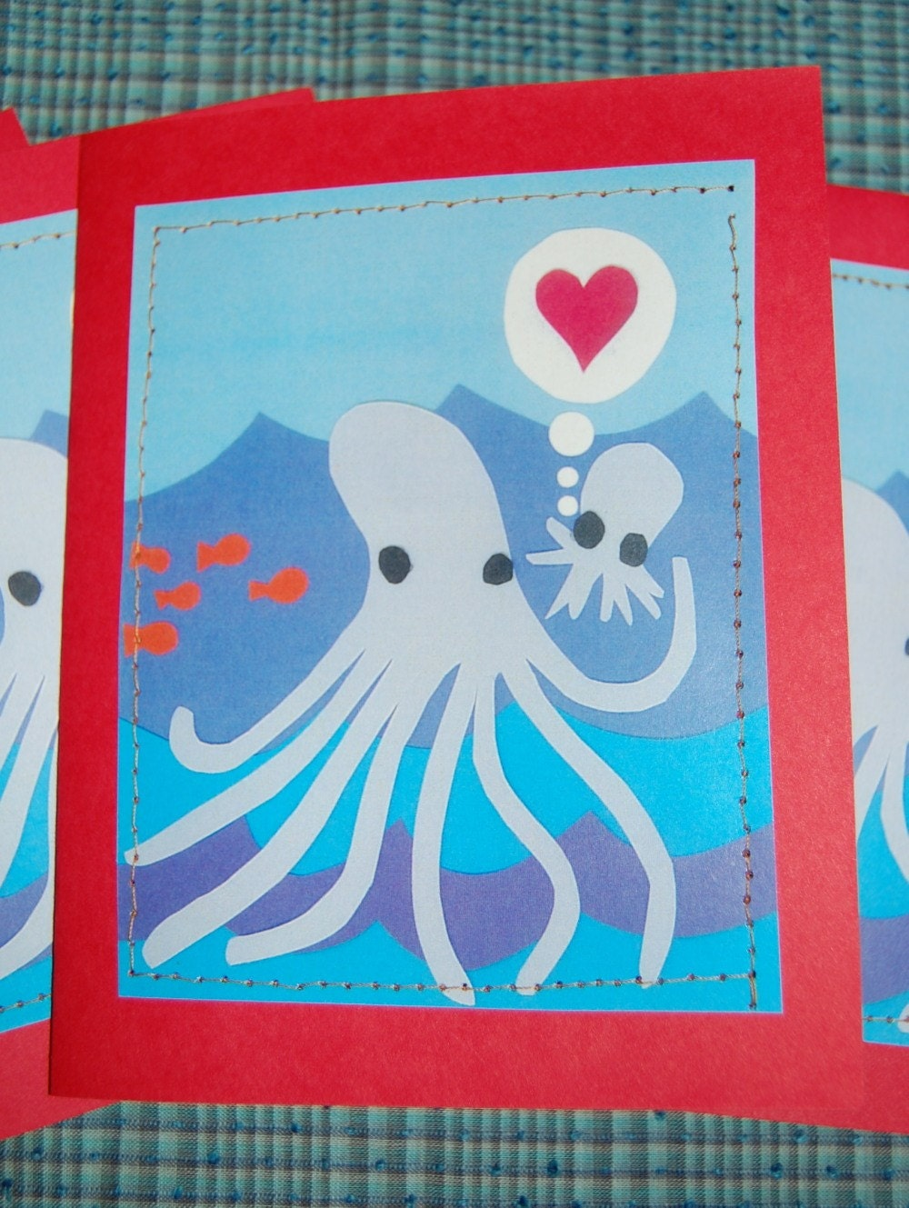 I Love You Octopus Card by Glade Made