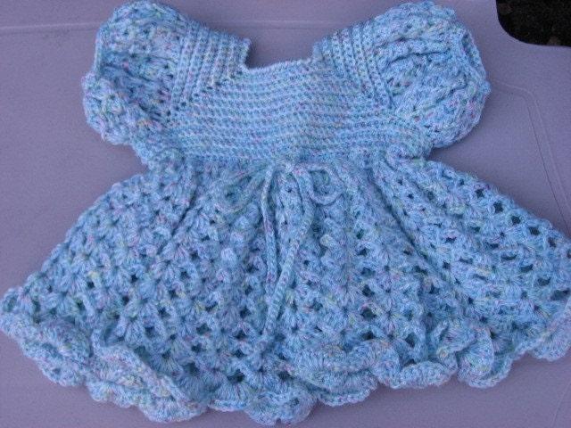 Crocheted Baby Dress Free Pattern Crochet Club