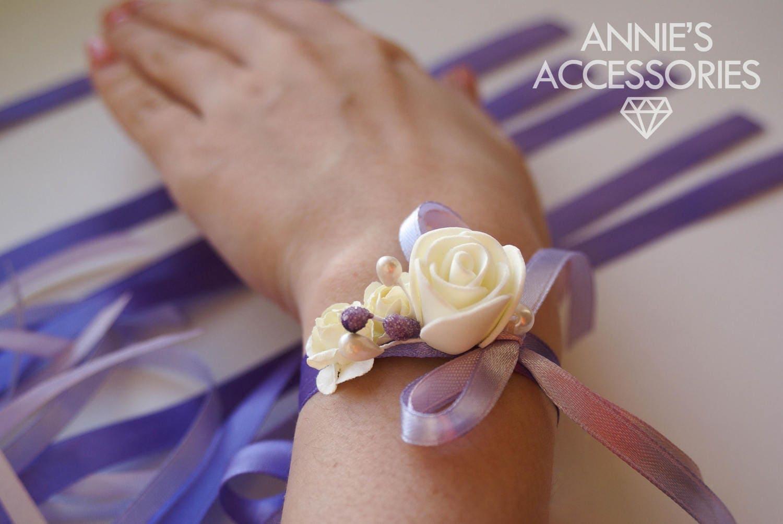 Как сделать браслет на руки подружкам невесты