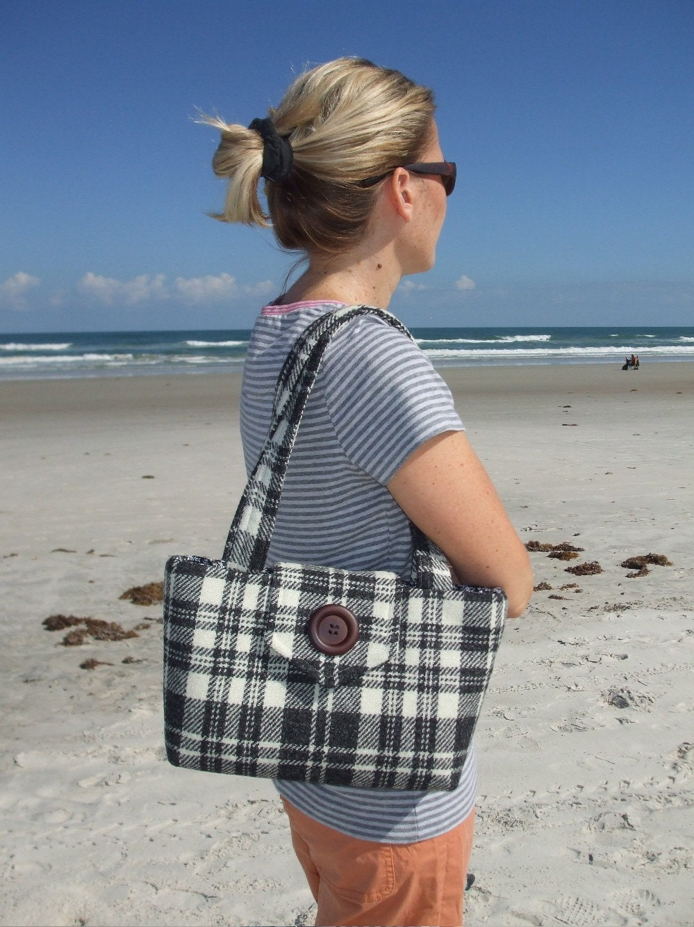 One of a Kind Harris Tweed Wayfarer Purse