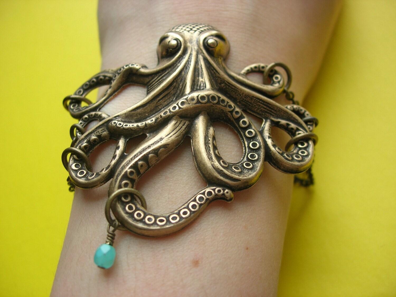 Octopus's Garden Bracelet from etsy.com