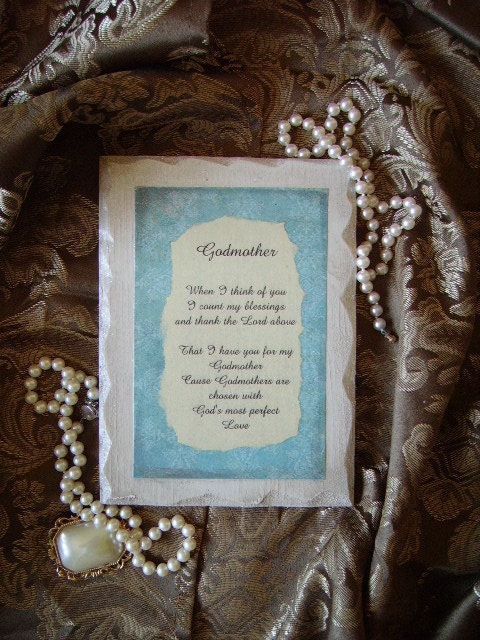 Be My Godmother Poem